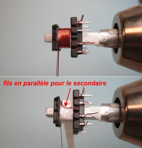 bobiner un transformateur 8