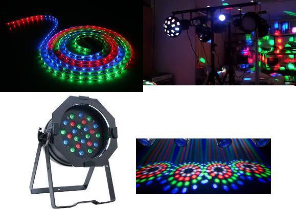 boule disco lumineuse a led rgb ou blanche 1