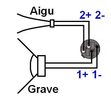 branchement cable speakon pour enceinte 6