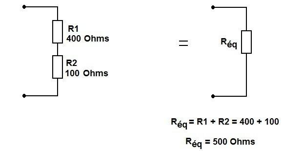 brancher deux resistances en serie ou parallele 1