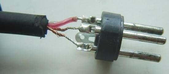 cable xlr jack micro realisation 6