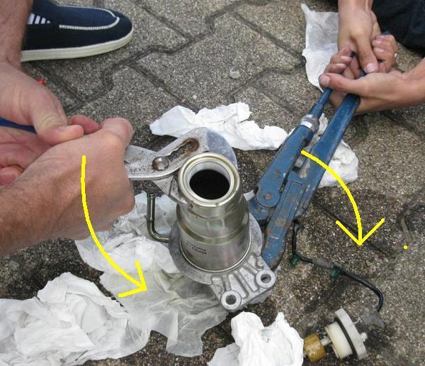 changer filtre gasoil mazda 6 7