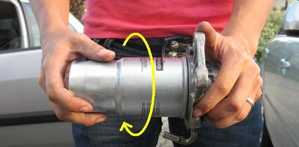 changer filtre gasoil mazda 6 9