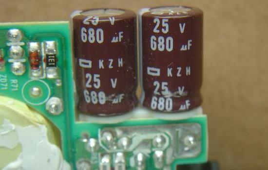 chargeur de pc portable 19v 120w composants 5