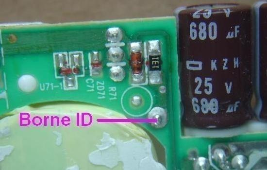 chargeur de pc portable 19v 120w composants 7