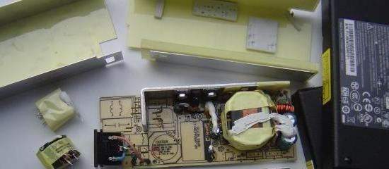 chargeur de pc portable 19v 90w composants 9