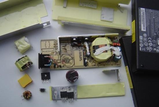 chargeur de pc portable 19v 90w composants 0