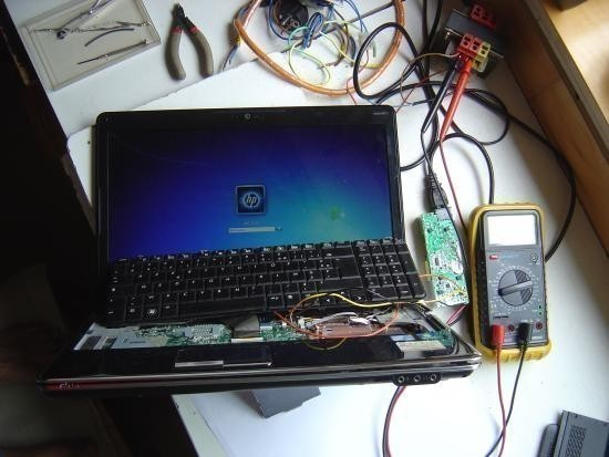 chargeur ordinateur portable bruit
