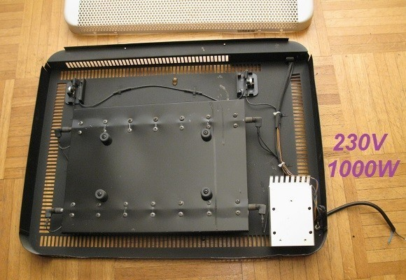 chauffage electrique 1000w puissance et principe 0