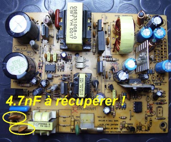 claquement dans les haut parleurs et interrupteur 3