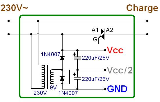 commande d un triac par micro electret pour jeu de lumiere 7