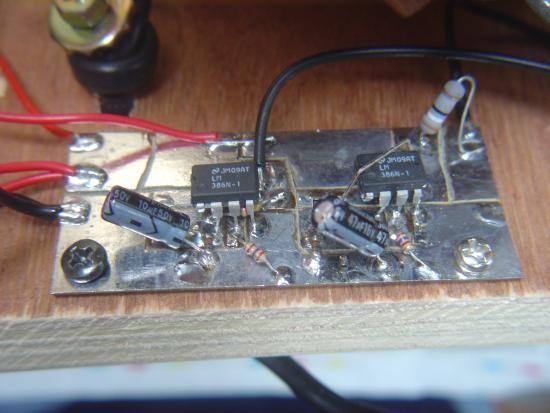 commande de moteur pour jeu de lumiere schema 2