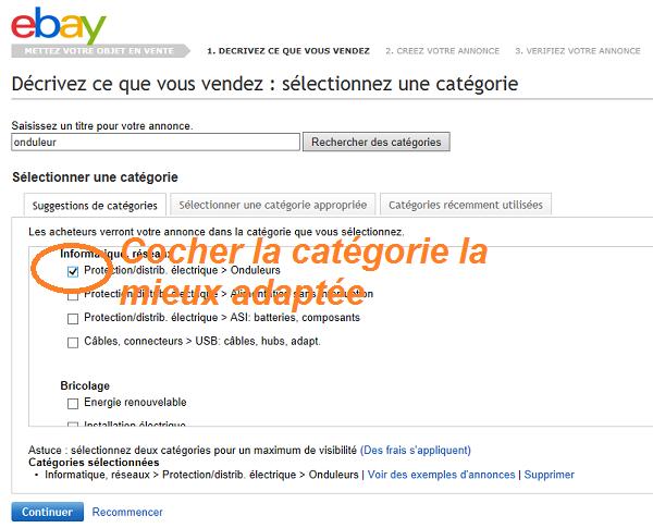 comment vendre sur ebay 2