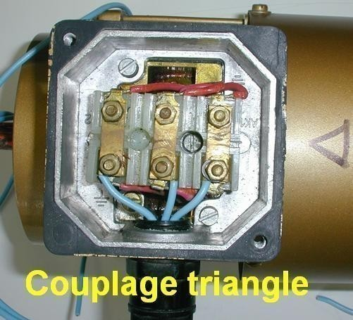 couplage etoile ou triangle moteur asynchrone 3