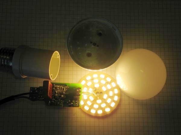 demonter une ampoule led 6