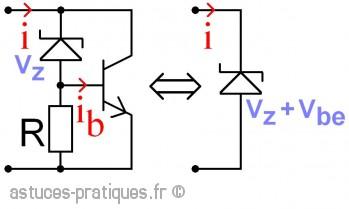 La diode zener: stabilisateur parallèle