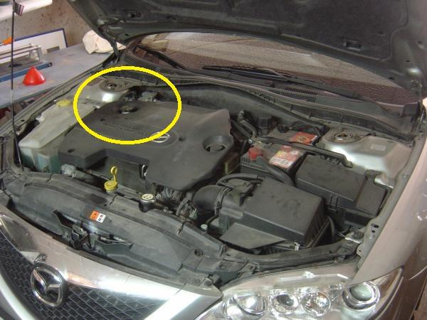 Faire sa vidange Mazda 6