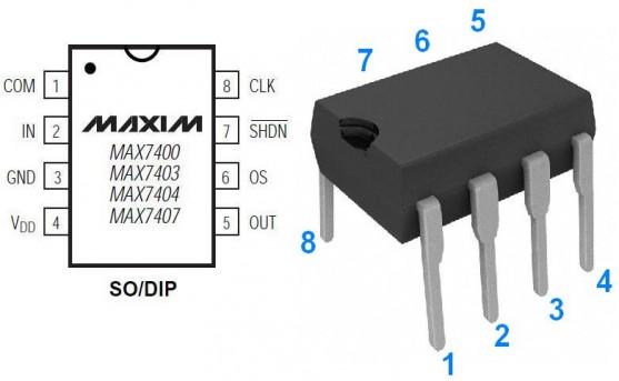 filtre passe bas d ordre 8 audio avec max7400 2