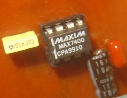 filtre passe bas d ordre 8 audio avec max7400 4