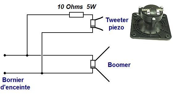 filtre simple pour tweeter piezo 0