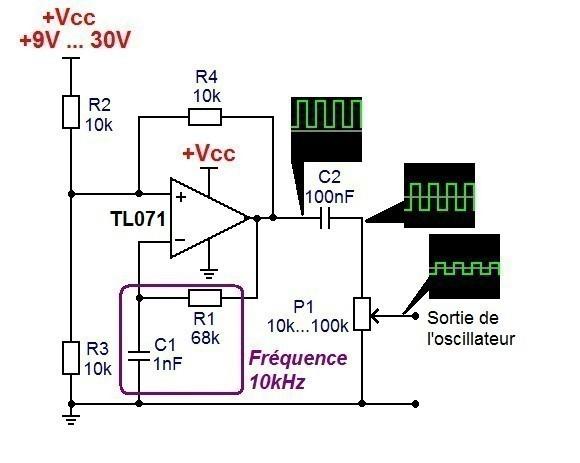generateur de signal carre ultra simple 1