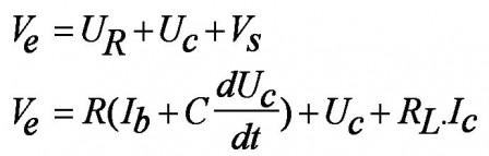 Inductance électronique  : simulation à transistor