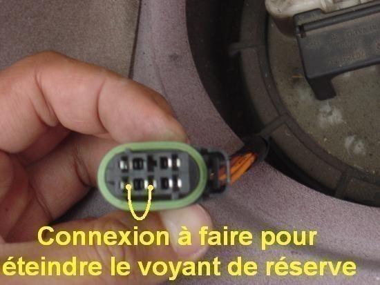 jauge a essence laguna 1 deconnexion 6