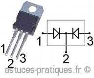 la diode mise en parallele 1