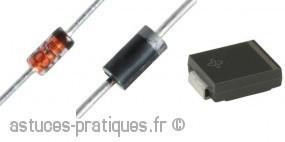 La diode: Mise en pratique