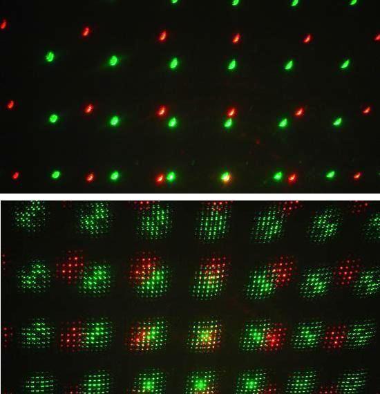 laser twinkling vert 50mw et rouge 150mw 11