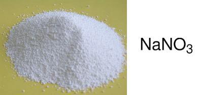 Le nitrate de sodium