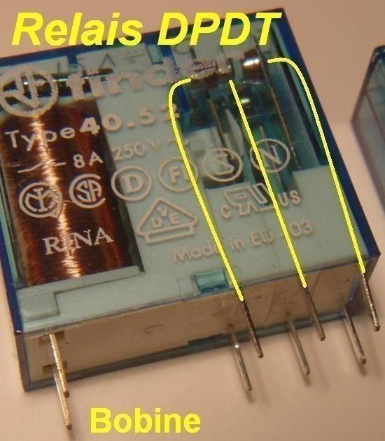 Le relais principe de fonctionnement astuces pratiques for Bascule transistor