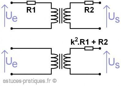 le transformateur resistance des enroulements 2