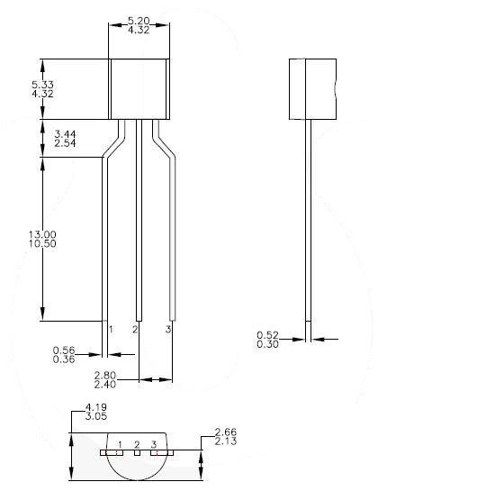 Le transistor bc547 for Le transistor
