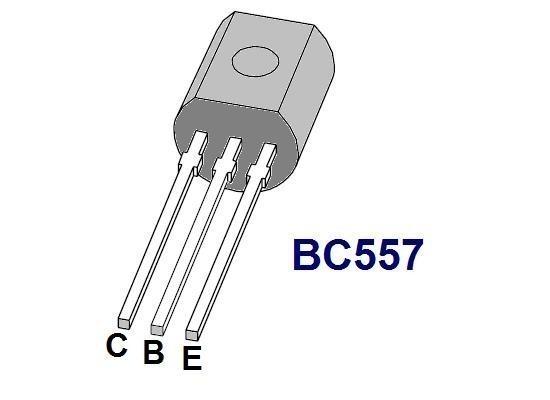 Le transistor bc557 for Le transistor