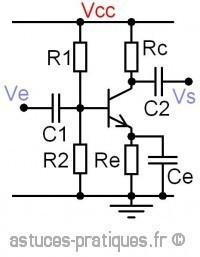 le transistor bipolaire emetteur commun 1