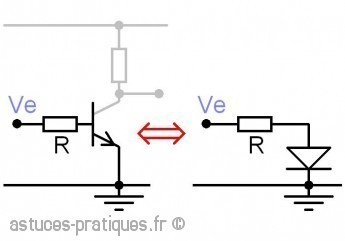 le transistor bipolaire gain hfe 1