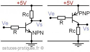 Le transistor bipolaire: gain hfe