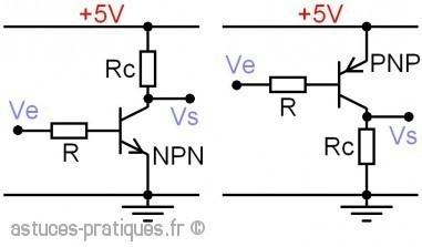 Le transistor bipolaire: gain hfe