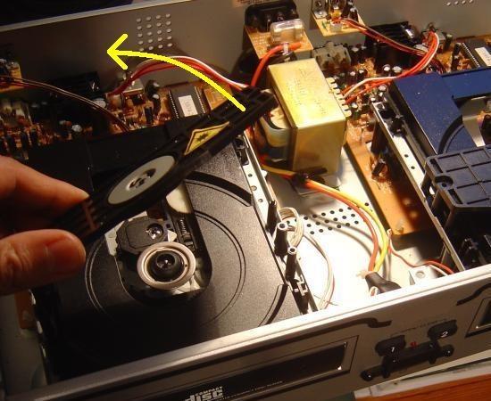 lecteur cd qui ne s ouvre plus 1