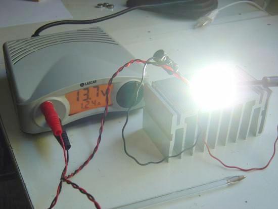 LED blanche 20W très haute luminosité