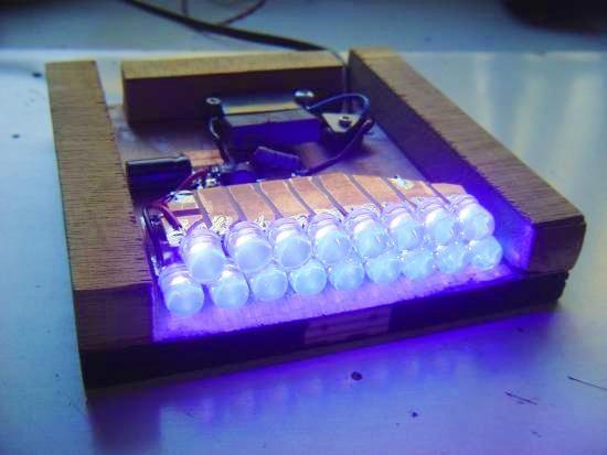 Lumière noire à LED UV haute luminosité