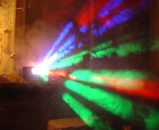 machine a fumee jeu de lumiere ibiza panne 8