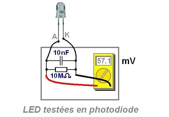 montage de led comme photodiode 0