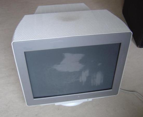 nettoyer les rayures du revetement anti reflet sur ecran crt 1