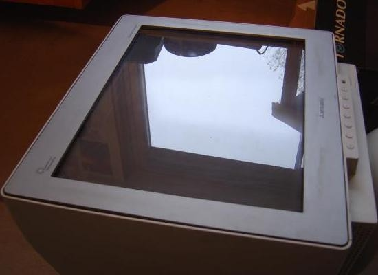 nettoyer les rayures du revetement anti reflet sur ecran crt 3