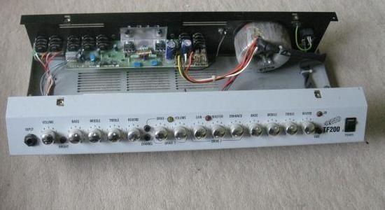panne ampli guitare laney tf200 7