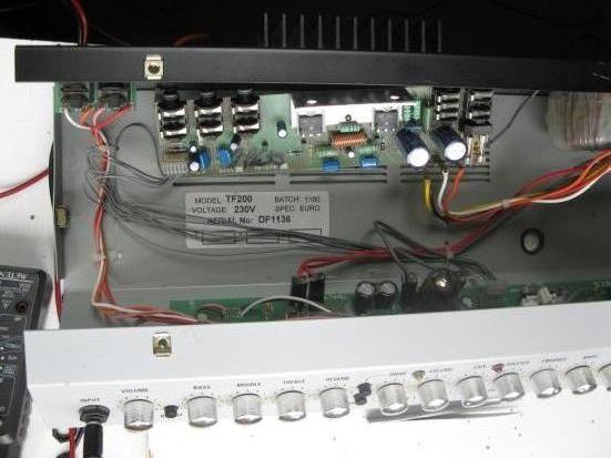 Panne ampli guitare Laney TF200
