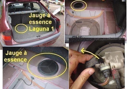 Panne jauge à essence Laguna 1