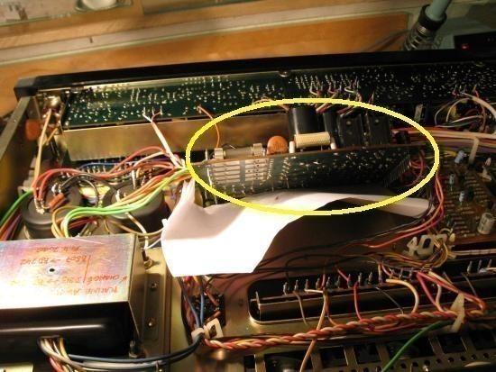 panne sur ampli pioneer sx 5570 1